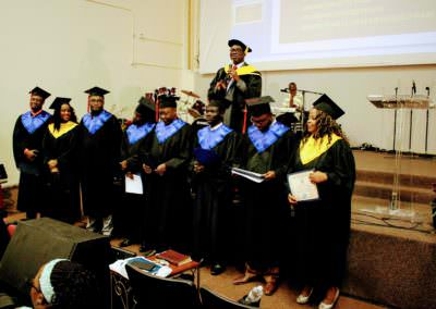 The Overcomers Leadership Institute Graduation